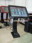 Most populer wholesale 19 desktop LED touch screen KOD karaoke player