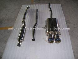 exhaust system-silencer- Muffler