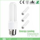 2U CFL bulb mini energy saving lamp factory price