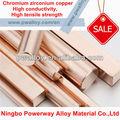 cuzr cucr cucrzr zirconio cobre