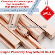 CuZr CuCr CuCrZr zirconium copper
