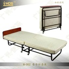 H-002 Portable Metal Folding Single Cots Bed/Camping Beds