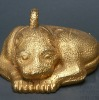 Gold small chinese famous bronze animal sculpture