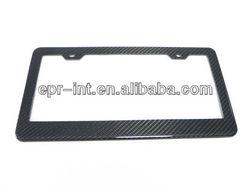 Carbon Fiber US American Number License Plate Frame Holder