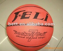 standard rubber basketball size 7