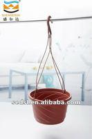 12 inch hanging plastic pot,plastic flower pot,garden pots