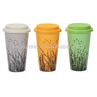 MDW005 ceramic mug and best home porcelain travel mug