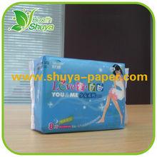 Six layers underware sanitary napkin for girls
