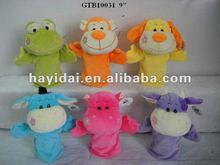 Custom animal hand puppets