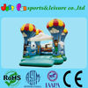 fantastic inflatable Parachuting castle, outdoor moon bounce for kids