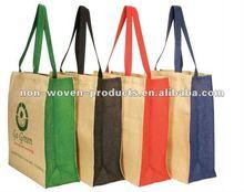 Long Handle Jute Enviro Friendly Promo Bags