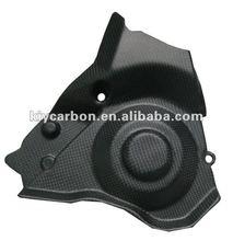 Carbon fiber sproket cover for Aprilia motorcycles
