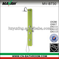 yeşil duş Ucuz temperli cam duvar paneli