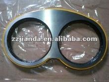 Schwing Concrete Pump spare parts spectacle wear plate DN250