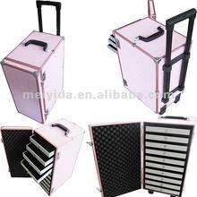 aluminium travel jewelry box