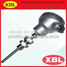 platinum RTD temperature sensor PT100 with adjustable thread