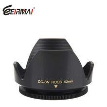 58mm Flower Lens Hood for Canon EOS 350D 400D 450D 1000D NIKON SONY MINOLTA