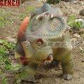 Exterior de simulación realista dinosaurio modelo