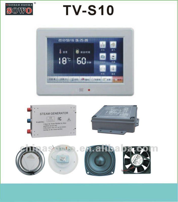 Foshan SOWO 2012 new developed steam shower room TV TV-S10