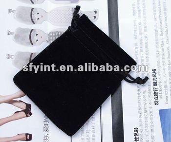 Black Velvet Gift Bag