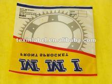 Heat seal packaging cachet