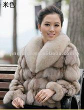 Genunie fox fur coat