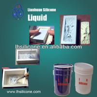 For gypsum decoration , Cultured stone, architectural cement,concrete stone molding silicon rtv-2 rubber
