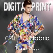 Top quality chiffon silk print service digital textile printing service Z4