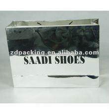 Export glossy lamination fashion paper bag