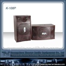 High quality Black Painting KTV Speaker 10inch woofer