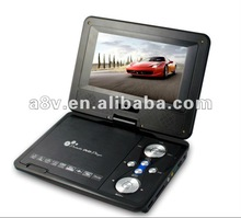 2012 the Newest design portable dvd player 9 inch(DA-789) with FM, USB SD EARPHONE,AV-IN/OUT,GAME,COPY FUNCTION