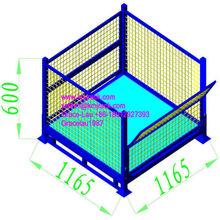 Steel Bulk Container/Mesh Storage Cage/Wire Storage Pallet