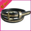 ladies fashion leather belt / women pu belt