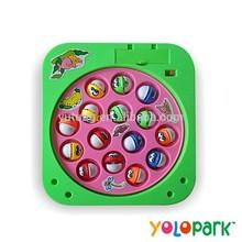 la batería de plástico operado 00838 niños juego de la pesca juguetes