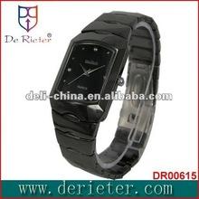 de rieter watch china shenzhen japan movt quartz watch OEM NO.1 hot ceramic gift