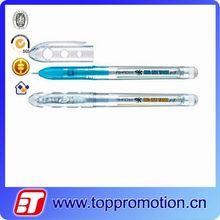 Transparent shell promotional gel ink pen