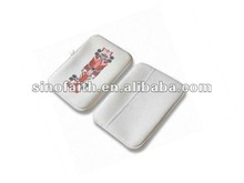 2012 hot sell white laptop sleeve with neoprene material