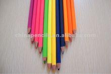 Fluorescent coloured pencil