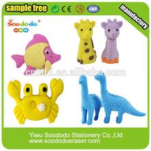 Lovely Animal Eraser School Supply