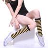 colorful knit customized school soccer sports wholesale custom striped sock