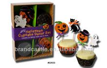 Halloween cupcake decorating set