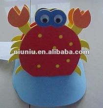 EVA CHILDREN CARTOON ANIMAL HAT/EVA CRAFT