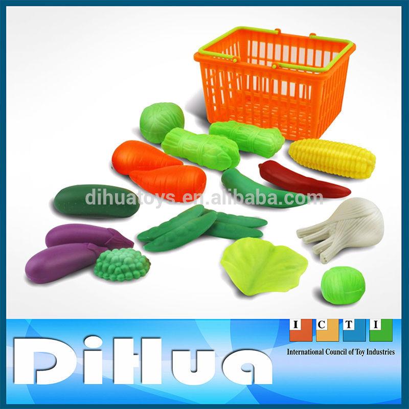 Pas cher en plastique jouet et Fruits et légumes pour les enfants