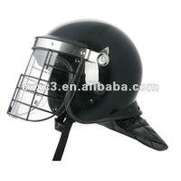 Metal Frame Visor Anti Riot Helmet