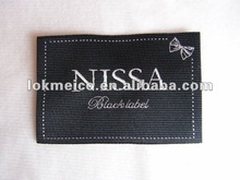High density woven main Labelwith soft edges Nissan-001