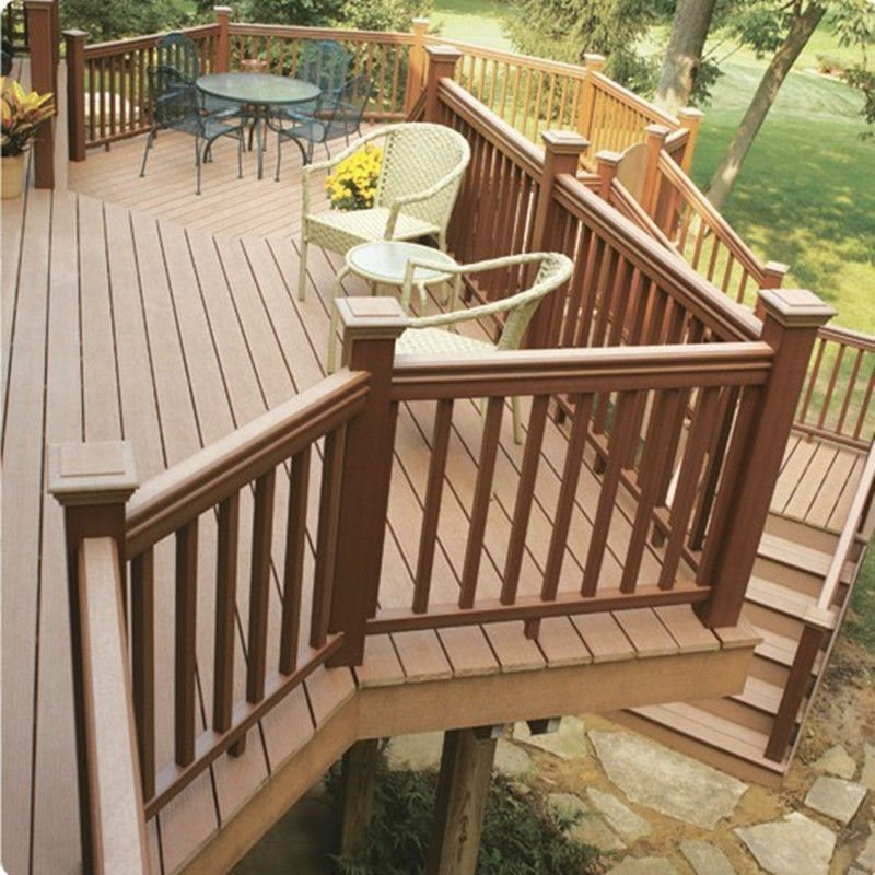 Outdoor Wood Stair Railing - Buy Outdoor Wood Railing,Outdoor Wrought ...