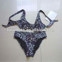 hot sell leopard hot bikini swimwear fashional design photos of 2012