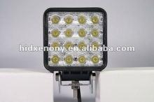 48W LED 12V~24V SQUARE FLOOD/WORK LAMP-DRIVING/BOAT/UTILITY