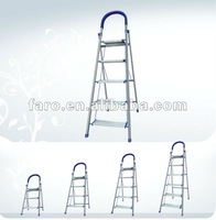 Latest high quality stable folding aluminum step ladder