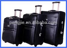 2014 Business PU Trolley Luggage, carlton luggage case, eminent trolley bags